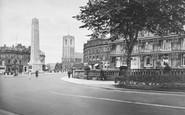 Harrogate, St Peter's Church And War Memorial 1927