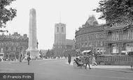 Harrogate, St Peter's Church and War Memorial 1927