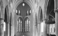 Harrogate, St Wilfrid's Church Interior 1928