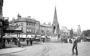 Harrogate, Station Square 1907
