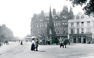 Harrogate, Station Square 1911
