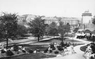 Harrogate, The Stray From New Terrace 1897
