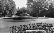 Harrogate, The Valley Gardens c.1965