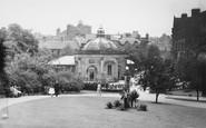 Harrogate, Valley Gardens And Royal Pump Room c.1955