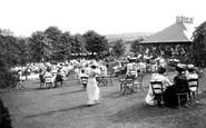 Harrogate, Valley Gardens And Tea House 1911