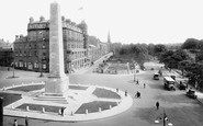 Harrogate, War Memorial And Prospect Place 1923