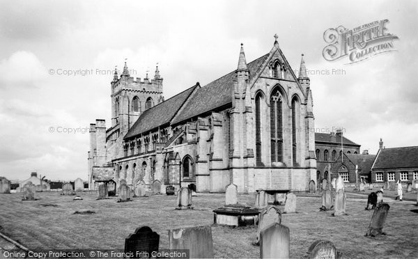 Photo of Hartlepool, St Hilda's Church c1965