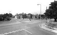 Harworth, the Cross Roads c1965
