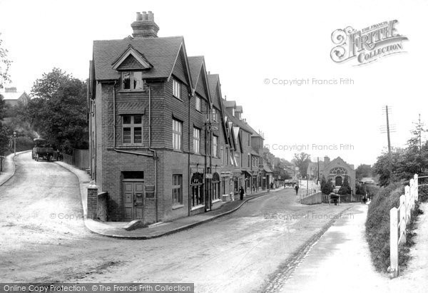 Haslemere Kings Road 1909 Francis Frith