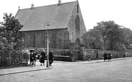 Haslingden, Catholic Church, Bury Road c1955