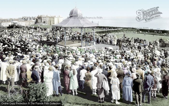Hastings, White Rock Gardens Bandstand 1925