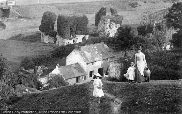 Haverfordwest, Fetching The Water 1890