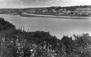 Hayle, From Clifton Terrace 1927