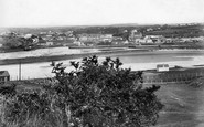 Hayle, From Lelant Golf Links 1901