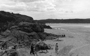 Hayle, Path To The Beach c.1955