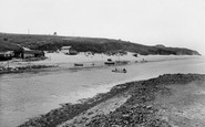 Hayle, The Bar And Ferry 1928