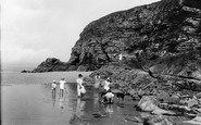 Hayle, The Beach 1925
