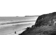 Hayle, The Beach And Godrevy c.1955