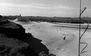 Hayle, The Sands c.1955