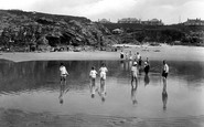 Hayle, Towans And The Paddling Pool 1925