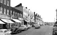 Haywards Heath, South Road 1958