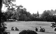 Haywards Heath, the Recreation Ground c1950