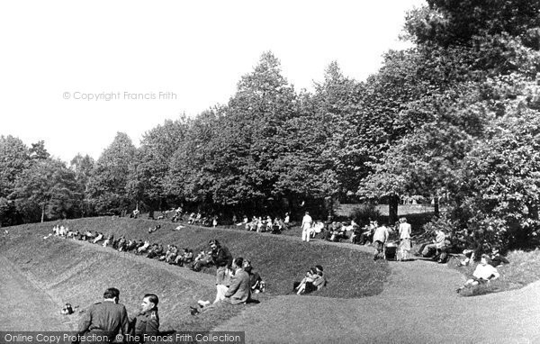 Haywards Heath, The Recreation Ground c.1950
