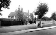 Haywards Heath, the Sergison Arms c1960