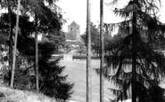 Haywards Heath, Victoria Park And St Wilfrid's Church c.1960
