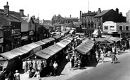 Heckmondwike, The Market Square c.1950