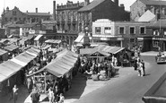 Heckmondwike, The Market Square c.1955