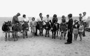 Hemsby, the Donkeys c1955