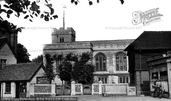 Hendon, St Mary's Parish Church c.1955