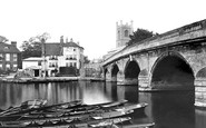 Photo of Henley-On-Thames, Bridge 1890