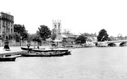 Photo of Henley-On-Thames, Bridge 1893