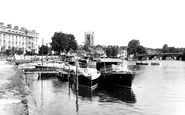Henley-On-Thames, From The Towpath c.1955