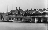 Henley-On-Thames, New Boathouses 1893