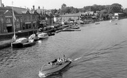Henley-On-Thames, On The River Thames c.1955