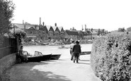 Henley-On-Thames, Riverside c.1955