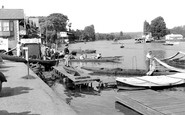 Henley-On-Thames, Riverside Scene c.1955
