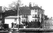 Henley-On-Thames, The Angel Hotel 1893