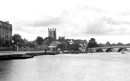 Photo of Henley-On-Thames, the Bridge 1890