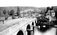 Henley-On-Thames, The Bridge c.1870