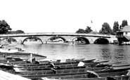 Henley-on-Thames, The Bridge c.1955