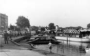 Henley-On-Thames, The Landing Place c.1955