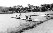 Henley-On-Thames, Tow Path Scene c.1955