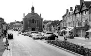 Henley-on-Thames, Town Hall And Market Place c.1960
