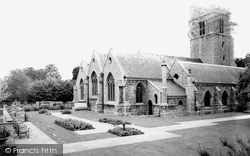 Heston, the Parish Church c1955