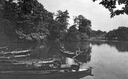 Highams Park, The Lake 1921