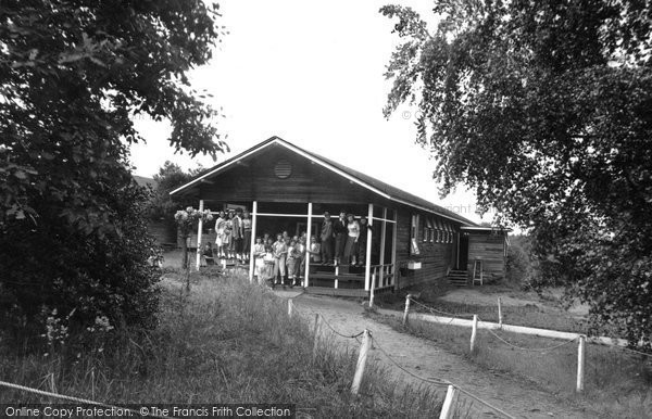 Hindhead, Dormitory, Marchants Hill Camp c.1955